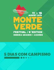 Monte Verde Festival 2016 - Passe 5 Dias com Campismo
