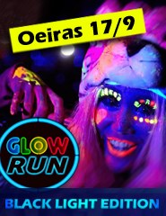 GLOW RUN OEIRAS - BLACKLIGHT EDITION 2016