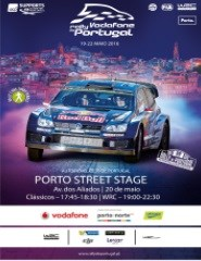 VODAFONE RALLY DE PORTUGAL - PORTO STREET STAGE