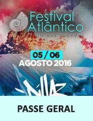 Festival do Atlântico 2016 – Passe Geral – Praia das Paredes