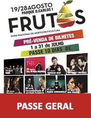 Feira dos Frutos 2016 - PASSE GERAL