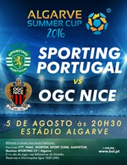 Sporting CP x OGC Nice - Algarve Summer Cup 2016