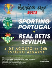 Sporting CP x Real Betis - Iberica Cup 2016
