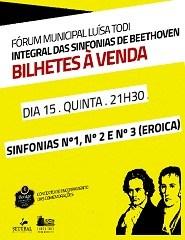 Integral das Sinfonias de Beethoven -  1, 2 e 3