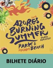 Azores Burning Summer Festival - BILHETE DIÁRIO