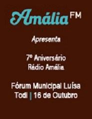 7º Aniversário da Rádio Amália