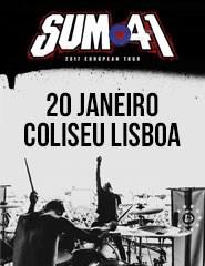 SUM 41 Coliseu Lisboa