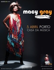 MACY GRAY - 2017 European Tour