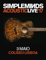 "SIMPLE MINDS - ACOUSTIC LIVE""17"