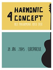 Harmonic 4 Concept - Best Phillarmonic Rock Ever