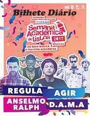 Semana Académica de Lisboa 2017 | Bilhete Diário