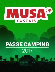 MUSA Cascais 2017 | Passe com Camping