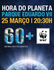 Hora do Planeta (Earth Hour), no Parque Eduardo VII
