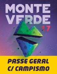 Monte Verde Festival 2017 - Passe Geral com Campismo