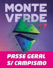 Monte Verde Festival 2017 - Passe Geral sem Campismo