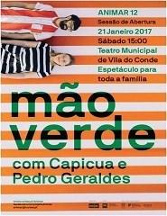 MÃO VERDE por Capicua e Pedro Geraldes