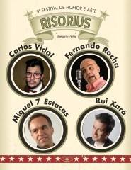 CARLOS VIDAL COM FERNANDO ROCHA