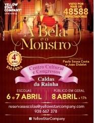 Teatro | A Bela e o Monstro | Sessão escolas