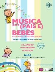 Música para Pais e Bebés - 05 Mar. - Sessão Extra