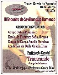 TIRITITRAN - III Encontro de sevilhanas e flamenco