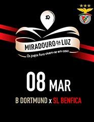 Miradouro da Luz - Borussia Dortmund x SL Benfica
