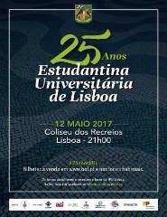 25 ANOS ESTUDANTINA UNIVERSITÁRIA DE LISBOA