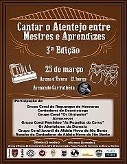 Homenagem Cante Alentejano Cantar Alentejo entre Mestres e Aprendizes