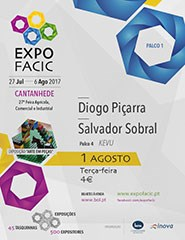 Expofacic-Cantanhede 2017 - Dia 01/08