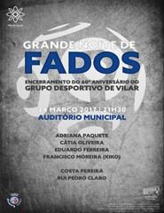 Noite de Fados - 60º Aniversário do Grupo Desportivo de Vilar