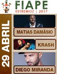 FIAPE 2017 - Matias Damásio - Krash - Diego Miranda