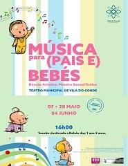 Música para (Pais e) Bebés - 07 Mai - Sessão Extra