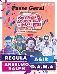 Semana Académica de Lisboa 2017 | Passe Geral