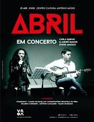 Abril em Concerto - com Carla Sabino & André Ramos, entre amigos