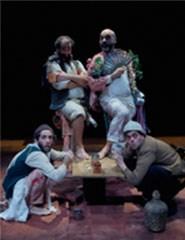 PENDENÇA SEM MERCÊ DE QUERER BEBER SEM TER O QUÊ - Teatro Língua