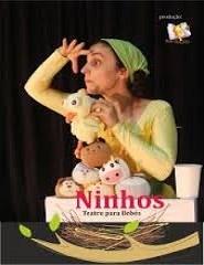 Ninhos  -  Teatro para bebés  (6 - 18 meses)