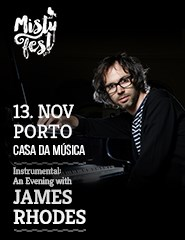 Instrumental: An Evening with James Rhodes - Misty Fest