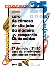 Concerto 25 anos Coro Câmara SJM