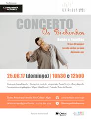 OS BICHINHOS - Concerto p/ Bebés e Famílias