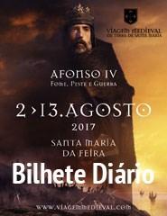 Viagem Medieval em Terra de Santa Maria - Bilhete Diário