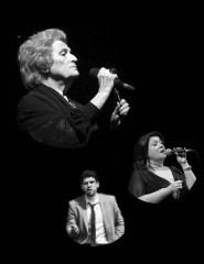 Celeste Rodrigues, David Xavier e Mafalda Campos