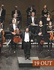 Concerto das Nações, pela Orquestra Clássica do Sul