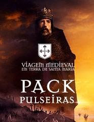 Viagem Medieval em Terra de Santa Maria - Pack Pulseiras