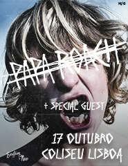 PAPA ROACH - CROOKED TEETH TOUR