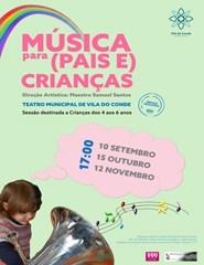 Música para (Pais e) Crianças - 15 Out.