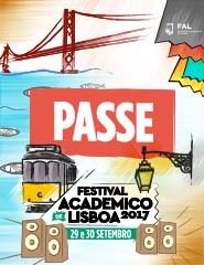 Festival Académico de Lisboa | Passe Geral