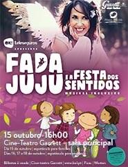 Fada Juju e a Festa dos Sentidos