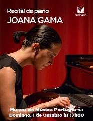 Recital de piano – Joana Gama