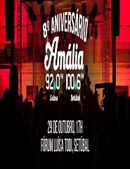 VIII Aniversário da Rádio Amália