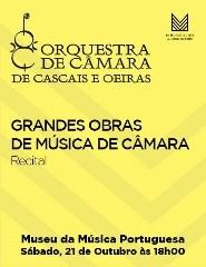Recital GRANDES OBRAS DA MÚSICA DE CÂMARA – OCCO