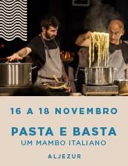 PASTA E BASTA - Um Mambo Italiano - ALJEZUR